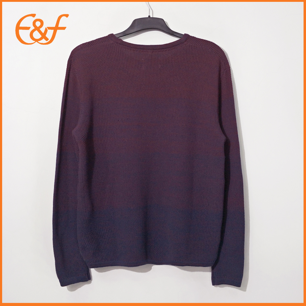 Round Collar Pullover Knitwear Sweaters