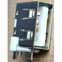 Номинальный ток 4А ДИП порт USB2.0 Тип а, Розеточный Разъем для адаптера питания, Мощность Банк