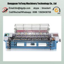 Máquina de bordar acolchada para múltiples capas