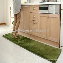 tapete do corredor da cozinha do microfiber do tamanho feito sob encomenda