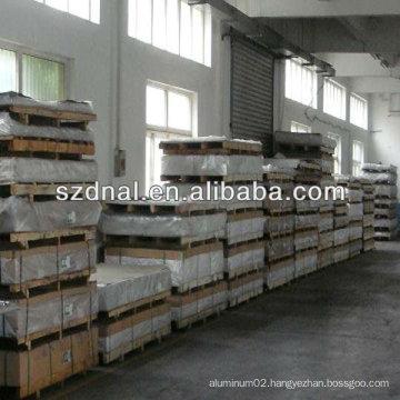 aluminium sheet metal prices 6063 with blue film
