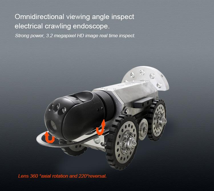 Anti Explosive Crawling Robot 6