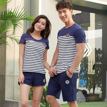 Wholesale couple t shirt with factory price