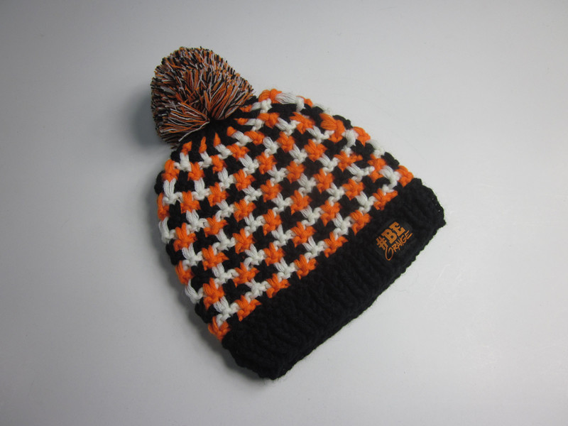Ladies Hand Made pompom Winter Hat