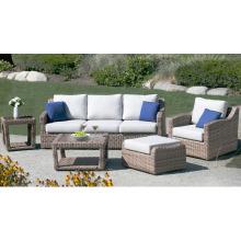 Outdoor Rattan Lounge Patio Furniture Garden Wicker Sofa Set