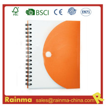 PVC Cover Paper Notebook for Promotional Gift