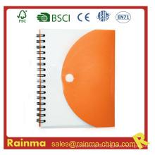 PVC-Cover Papier Notebook für Werbegeschenk