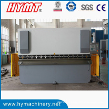 Machine à cintrer de plaque d'acier hydraulique de commande numérique par ordinateur WE67K-100X2500 et presse plieuse hydraulique