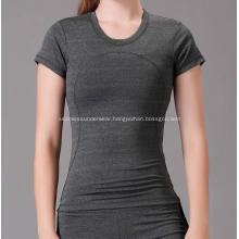 Fashion Yogaes Run Switly Tech Short Sleeve Girl Vest