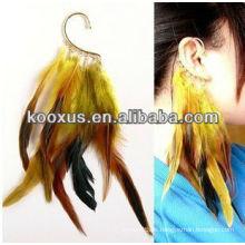 Neue Produkte für 2014 Mode Feder Ohrring