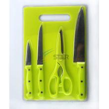 Cuchillo de cocina 4PCS fijado (SE150002)