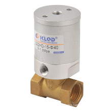 Ningbo Kailing double acting fluid air control valve Q22HD 15 for air, water, oil, liquefied gas, etc.