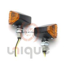 Esquina universal Cateye luz de intermitentes para motos