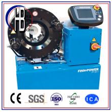 Máquina de friso da mangueira hidráulica manual do poder do Finn P20