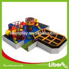 Commercial China Import Large Size Trampoline indoor elastic trampoline                                                     Quality Assured