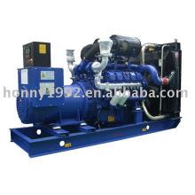 Geradores a diesel da série Doosan (50Hz, 1500rpm, 400 / 230V ajustável, trifásico, 4 fios)