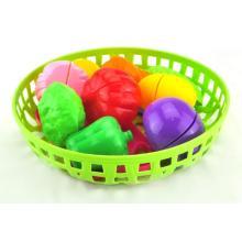 Juguetes magnéticos de la cocina de las verduras de frutas de los niños al por mayor