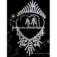 Dernier ensemble de bijoux de mariée (GWJ12-537A)