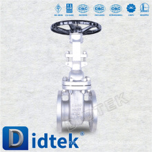 Didtek DIN Large Size Raise Face Flanged Gate Valve