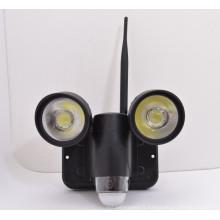 Nouvelle alarme de détection de mouvement suivi caméra pir pir lumière pour système de sécurité à domicile