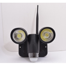 Alarme de detecção de movimento novo rastreamento covert pir luz câmera para sistema de segurança em casa