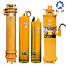 High efficiency stainless steel impeller submersible pump