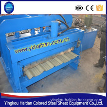Automatic Color Steel Glazed Roof Tiles Making Machines Line