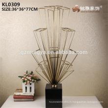 Design spécial décoration de style en métal accessoires décoratifs artisanat en métal