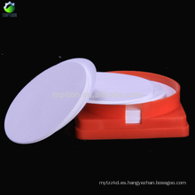 TOPTION filtro de membrana microporosa PP 50MM * 0.45UM, 100 piezas / caja
