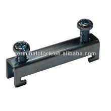 TA-002 Bloque de terminales Abrazadera de metal Abrazadera de extremo del riel DIN