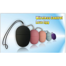 Juguetes sexuales para adultos para el huevo femenino vibración inalámbrico