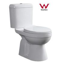 Watermark Ceramic Washdown Toilette à deux pièces (483)