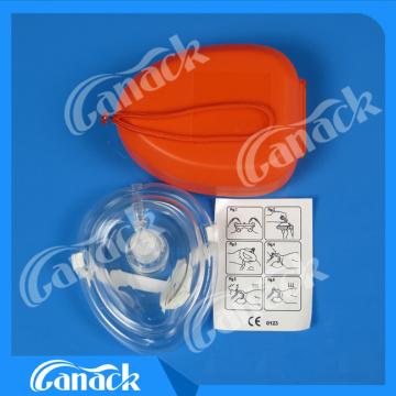Máscara de RCP para primeros auxilios médicos