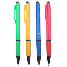 Promocionais caneta de plástico barato bola (R1022)