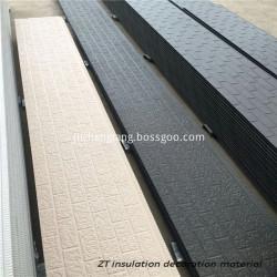 External wall insulation siding panel