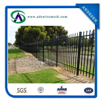 Wrought Iron Fence /Steel Tubular Fence/Garden Fence for Sale