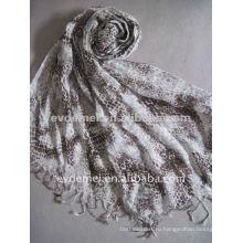 Модный повелительница льняного шарфа, испанский фламанко мантон шаль, тюрбан для мужчин