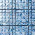 Light Blue Glazed Ceramic Mosaic