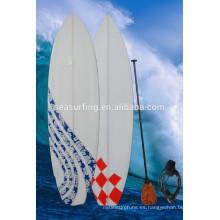 2015 tablero de surf en blanco colorido de alta calidad EPS
