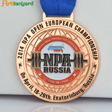 Custom Medal Award With Soft Enamel