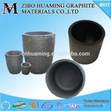 Crisol de grafito fundido de aluminio / cobre / metal