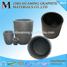 Graphite crucible carbon crucible /pot/kettle/tin for melting