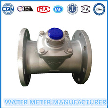 Turbin Water Flow Meter in Stainless Steel Body Shell Dn50-200