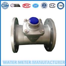 Турбинный расходомер воды в корпусе из нержавейки DN50-200