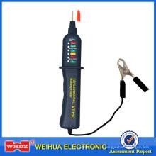 Verificador do alternador do verificador da bateria de carro auto com a exposição VT5C de 6 luzes do diodo emissor de luz