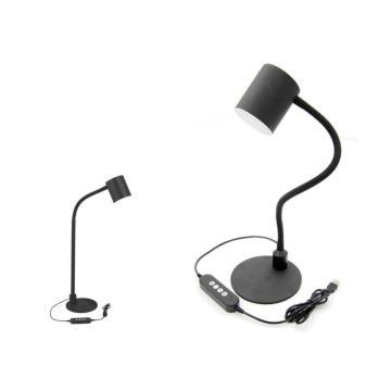 LED-Studientischleuchte Lesetischlampen Schwarz
