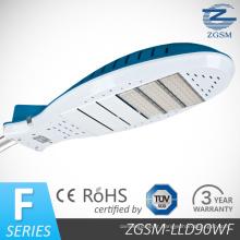 Sortie de Lumen élevé 90W LED Light Street avec CE/RoHS, IP65 Ik08