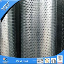 Tuyau perforé en acier inoxydable 304L 316L pour décoration