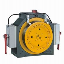 20 Poles Gearless Elevator Traction Machine , Low Noises MINI-1