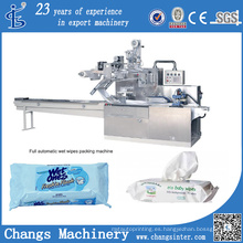 Dwb Series Custom Pillow Automático Wet Wipes Tejidos Fabricación de máquinas de embalaje